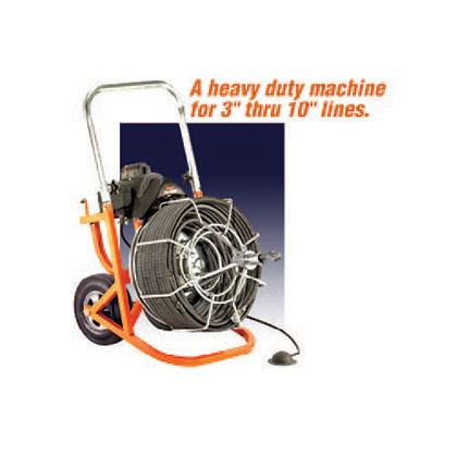 Drain-Cleaner-Corded-Drill-25'-x-516'-Electric-II